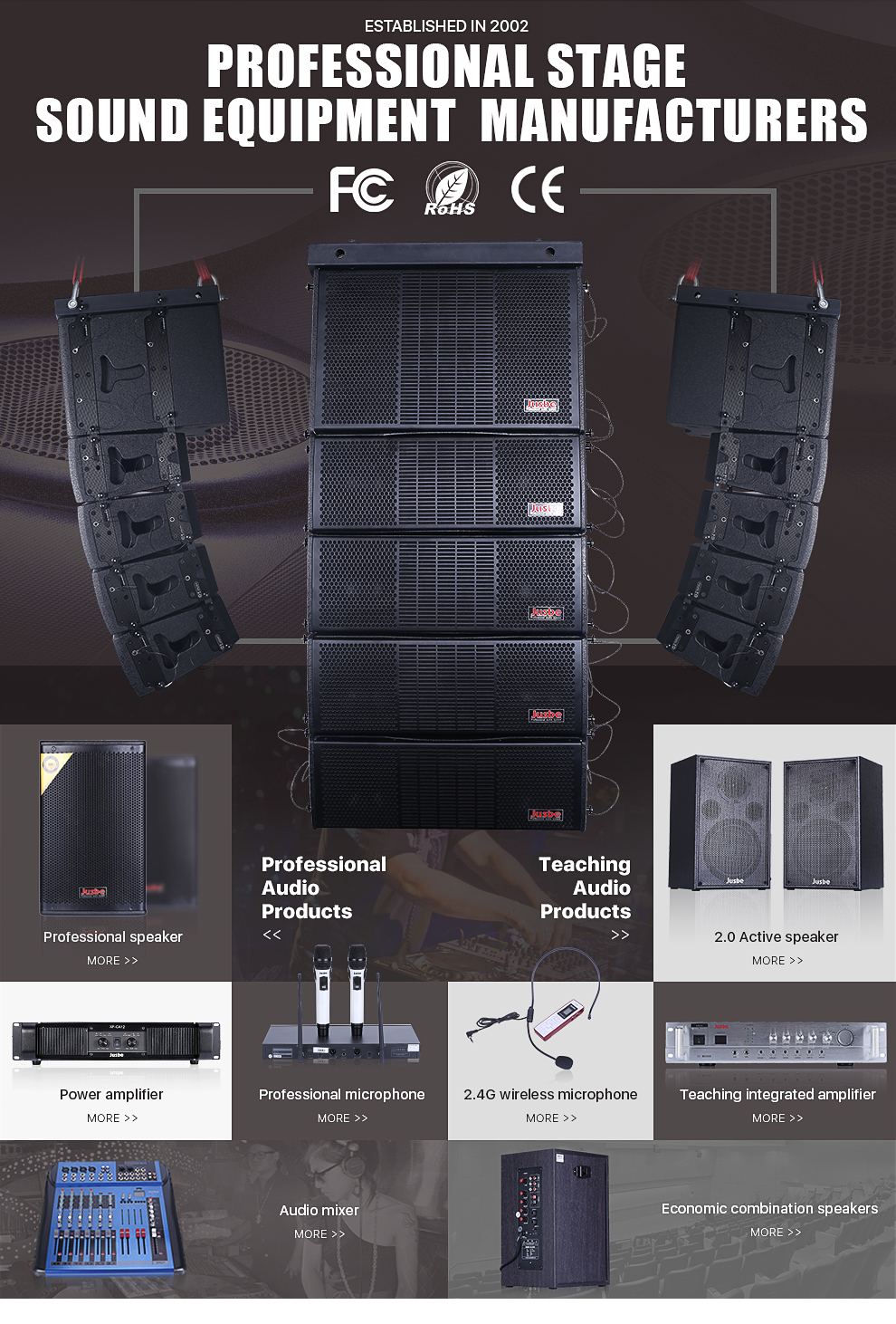 Fungsi Manajemen Sound System : fungsi, manajemen, sound, system, Guangzhou, Jusbe, Electronic, Technology, Teaching, Series, Combined, Amplifier,teching, Passive, Speakers