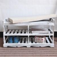 Dark Color Wooden Shoe Storage Cabinet - Buy Cheap Storage ...