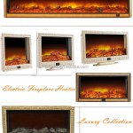 Contemporary Classic Electric Fireplace Heater In Black Digital Remote Control Smart Space Warming Heater Buy Contemporary Classic Electric