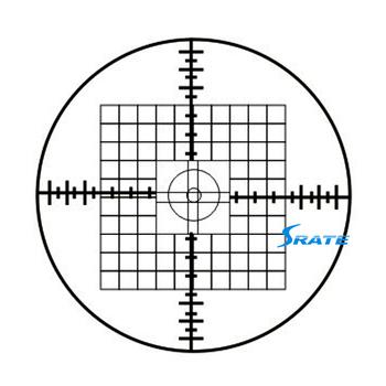 Cat954 Cross Net Ruler 10x10 Inside Outside Micrometer