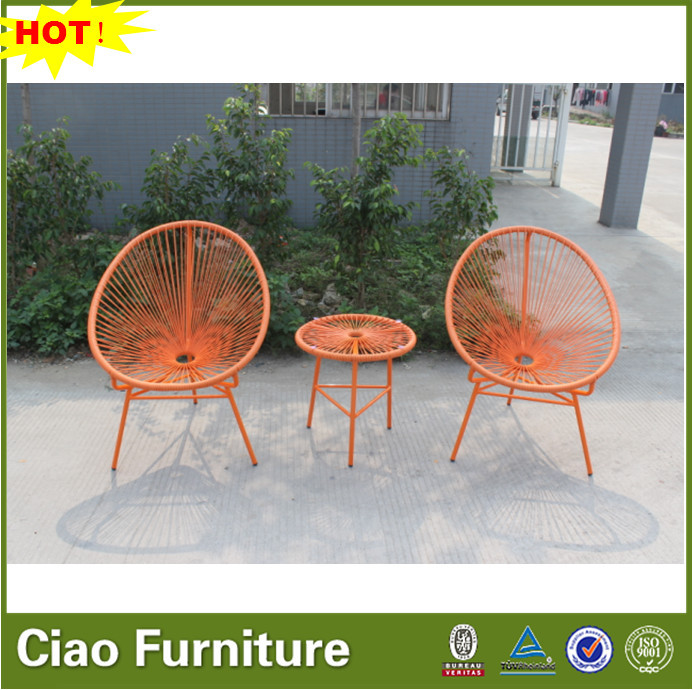 patio string chair champagne crushed velvet covers garden furniture outdoor egg buy