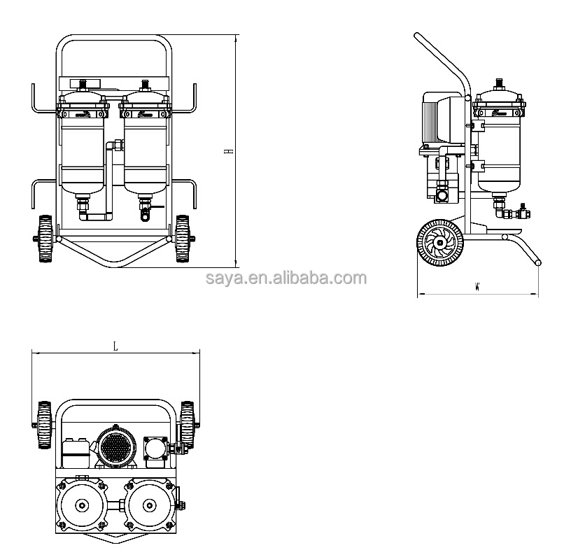 Small Oil Refinery Plant Used Waste Engine Oil Purifiers
