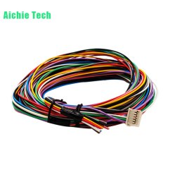 multi colored coded automotive cable harness [ 1000 x 1000 Pixel ]