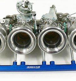 obx individual throttle body for 92 95 honda civic d16z6 itb [ 1600 x 1000 Pixel ]