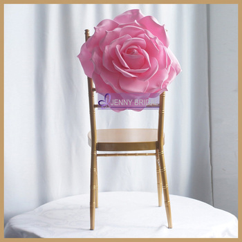 paper chair covers for weddings revolving dealers in vadodara c313c beautiful elegant rose pink blush flower cover weeding