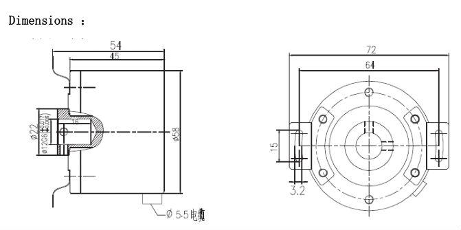 pulse incremental rotary encoder digital encoder blind