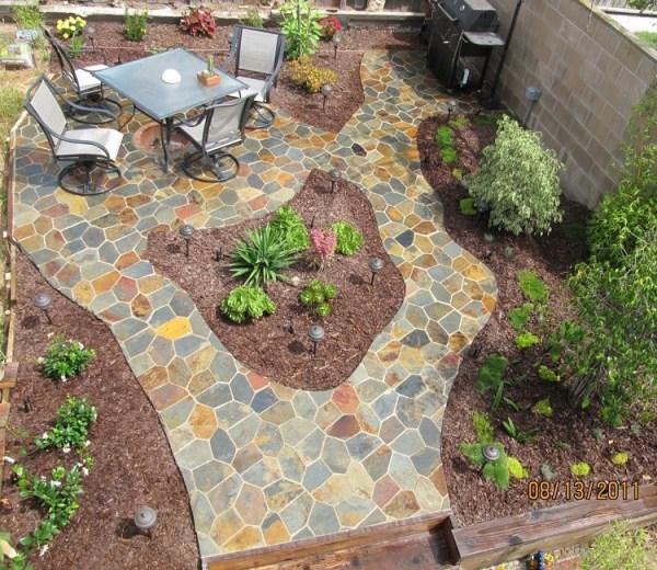 natural slate cheap patio paver