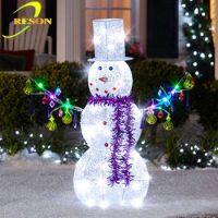 Outdoor Christmas Decoration Lighted Metal Christmas ...