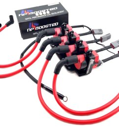 2004 11 mazda rx8 rx 8 ls3 ls7 ignition coil pack conversion kit wires [ 1600 x 1124 Pixel ]
