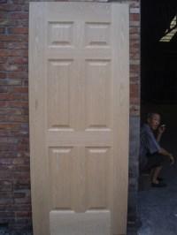 2016 New Design Wood Veneer Door Skin Molded Wooden Door ...