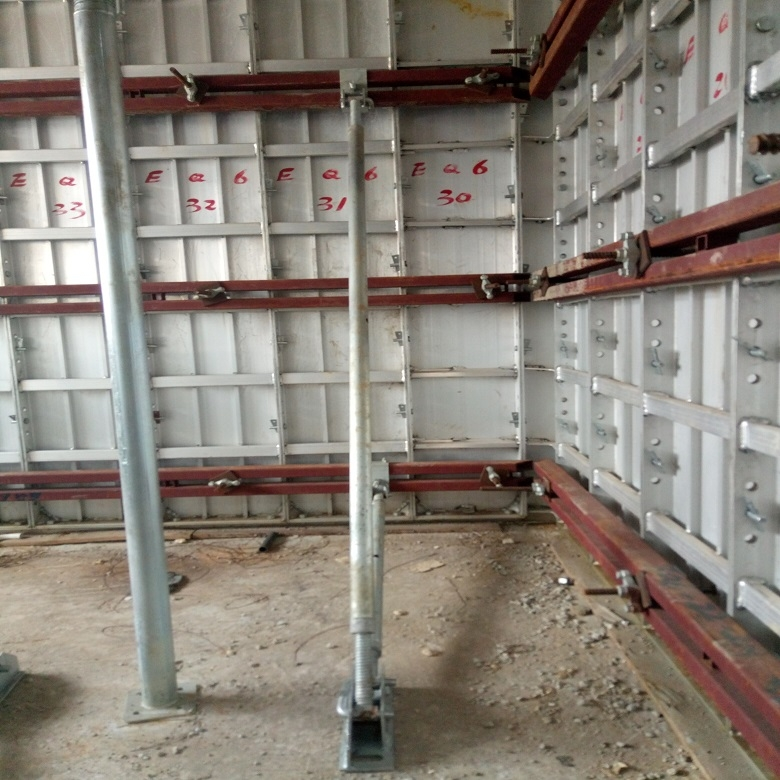 Aluminium Formwork For Lift Core Wall Slab Stair Building | Concrete Stair Formwork Design | Round | Master | Broken | Slab | Small Space