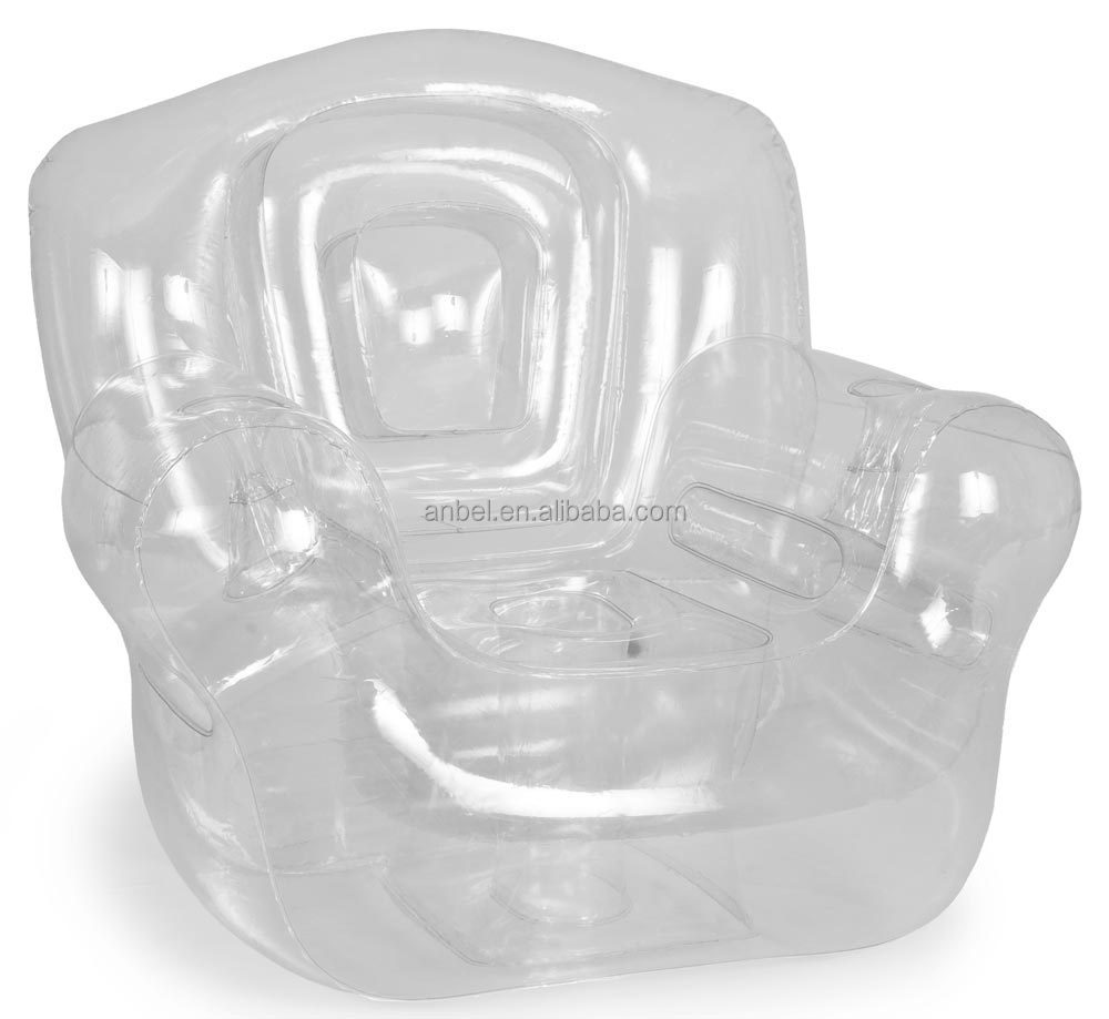 pvc lounge chair king folding popular transparent inflatable corner air sofa couch for sale - buy ...