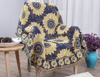 100 cotton sofas klippan sofa review uk produce custom pattern jacquard woven throws blanket decorative throw
