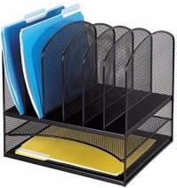 New Metal Paper Tray Office Mesh Desk Organizer File ...