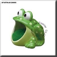 Unpainted Bisque Frog Sponge Holder - Buy Unpainted Bisque ...