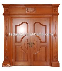 Indian Wooden Front Double Door Designs