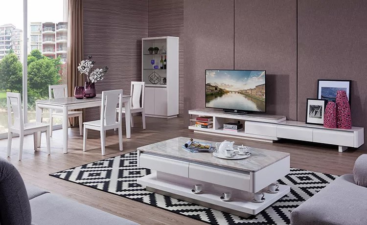 marble coffee table tv stand nice dinning table with chair buy modern coffee table marble tv stand home dinning table product on alibaba com