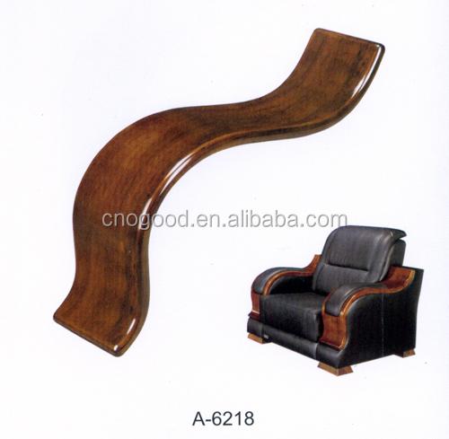 wooden armrest for office