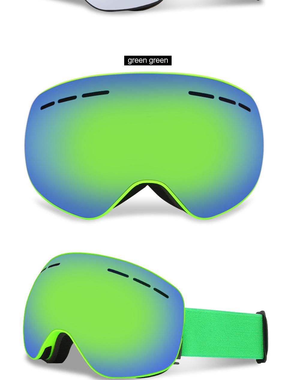 Ski Óculos De Proteção UV400 Óculos De Esqui Lente Dupla Anti-nevoeiro  óculos de Esqui Snowboard Óculos De Esqui Óculos Com uma Caixa e um Lente  ExtraUSD ... 1a39d2ab9c
