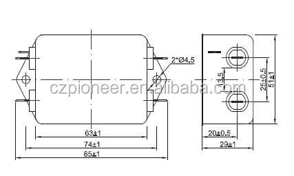 Power Supply Design For Emi Filter Power Supply Enclosure
