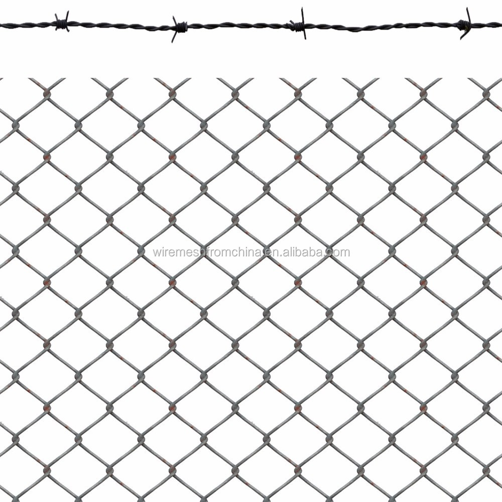 5% Off Galvanized Diamond Chain Link Wire Mesh Fence