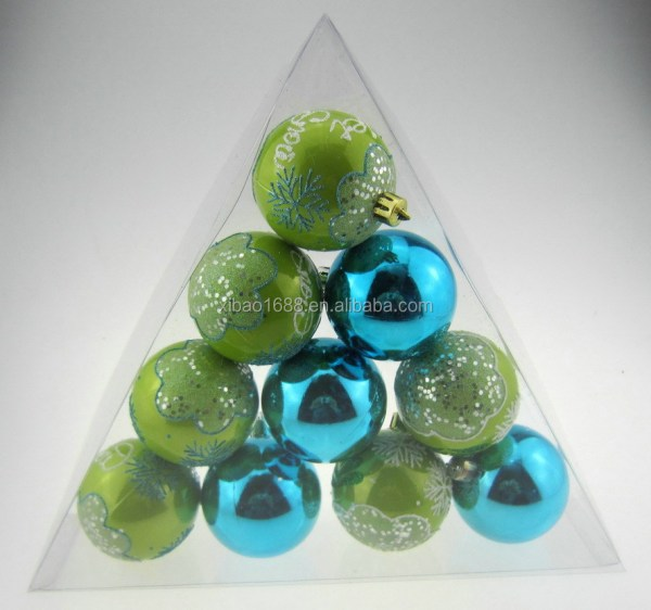 Shatterproof Christmas Ball Ornaments