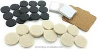 Self adhesive felt pad, chair leg floor protection, View ...