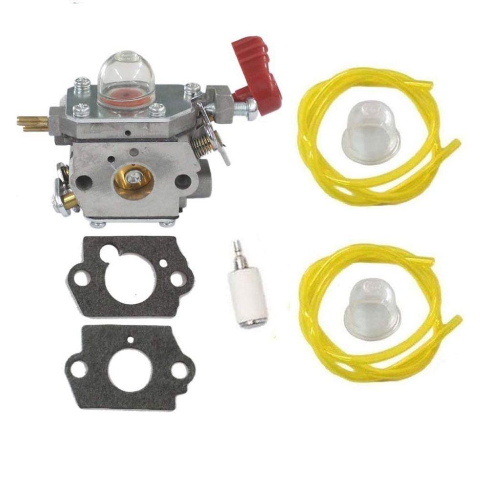 medium resolution of huri carburetor with gasket fuel line primer bulb fuel filter for craftsman troybilt yard machine trimmer