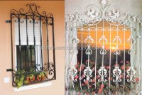 Hot Sale Beautiful Forging Works Decorative Wrought Iron