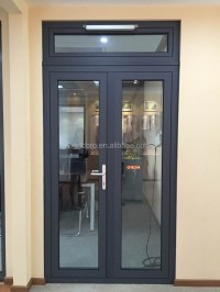 Exterior Double Glazed Side Hung Aluminum French Door ...