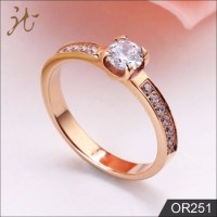 Latest Designs Rose Gold Diamond Engagement Wedding Gold