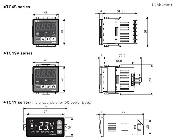 Autonics Tc4s-14r Economical Pid Temperature Controller
