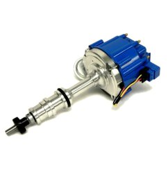 get quotations assault racing products 1039013 ford bbf fe v8 50k one wire hei distributor 352 360 390 [ 1000 x 1000 Pixel ]