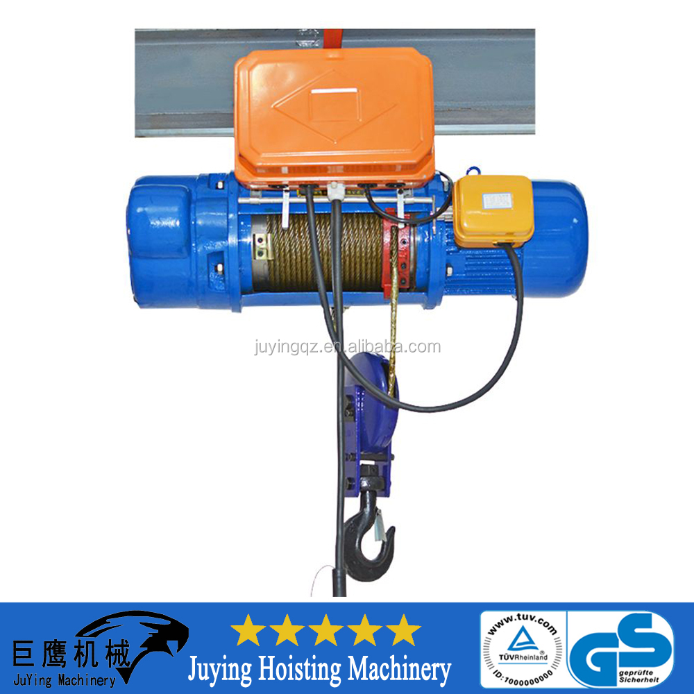 hight resolution of wire rope motor hoist lifting monorail hoist portable hoist crane