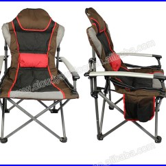 Padded Camping Chair Z Design Plans Folding Heavy Duty With Armrest View