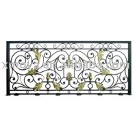 Wrought Iron Balcony Railing - Buy Wrought Iron Balcony ...