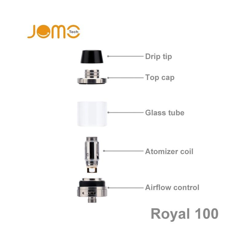 2016 Hot Selling Products Wholesale Vaporizer Pen Royal