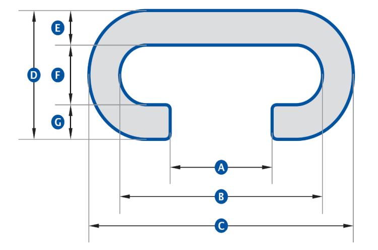 XF Escalator Parts, Rubber Conveyor Handrail Belting