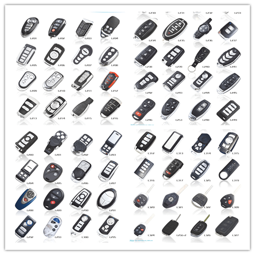 Sistema Di Allarme Auto Manuale Universal Remote Control