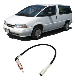 get quotations chevy lumina apv 1990 1996 factory stereo to aftermarket radio antenna adapter [ 1000 x 1000 Pixel ]