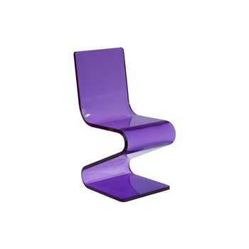 lilac office chair blue saucer purple acrylic z shaped desk lucite buy