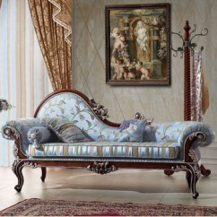 Bedroom Chair Chaise Revolving Photo Tyx1324 European Style Solid Wood Lounge Sofa Antique Furniture