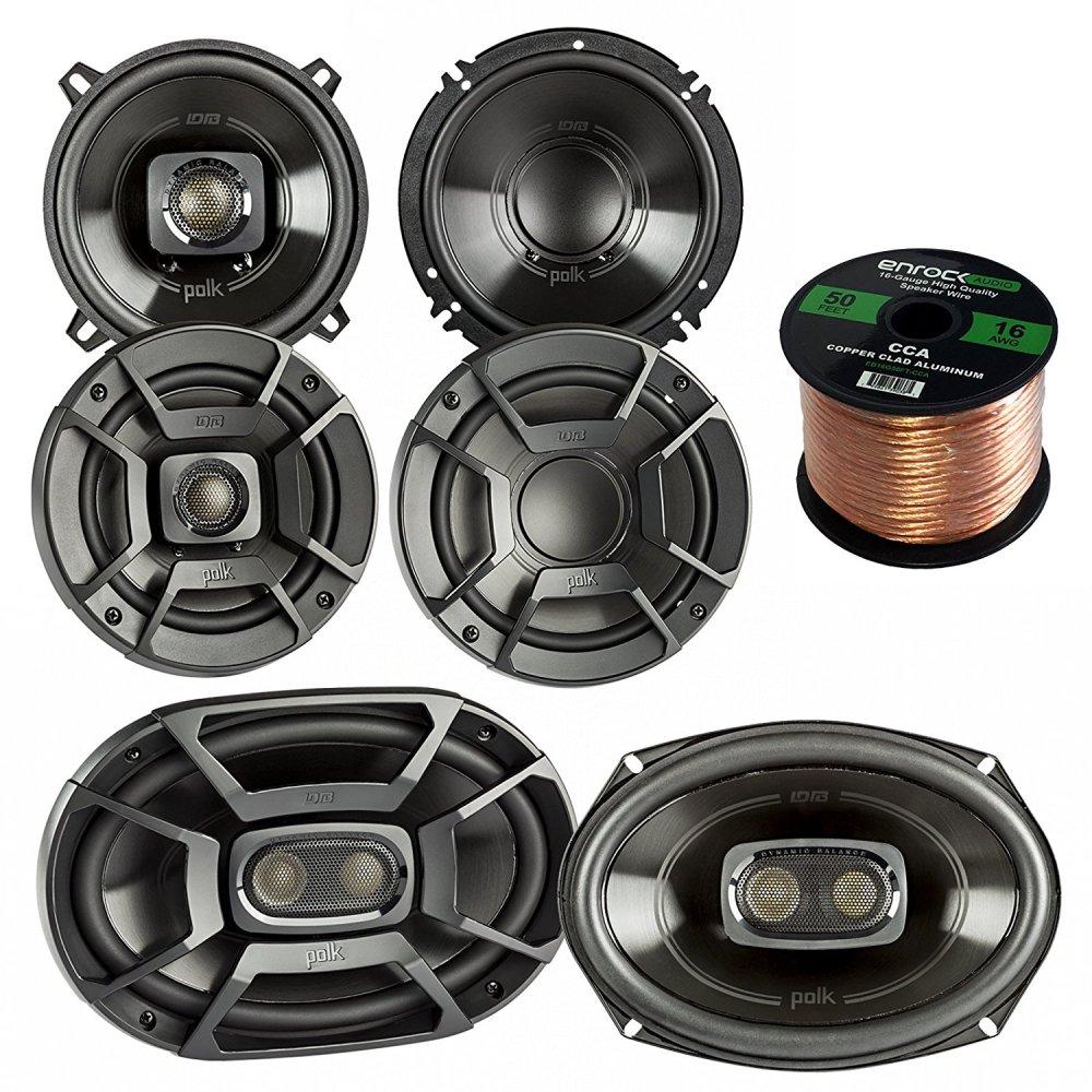 medium resolution of get quotations 2x polk audio db522 5 25 inch 300 watt 2 way speakers 2x