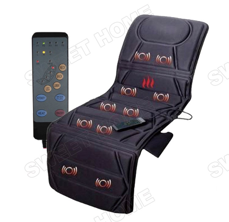Full Body Massage Mat With Heat Shiatsu Massage Mattress