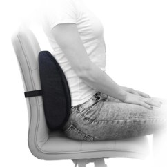Chair Back Support Wicker Repair Ventilating Mesh Lumbar Roll Alleviates Lower Pain Pillow