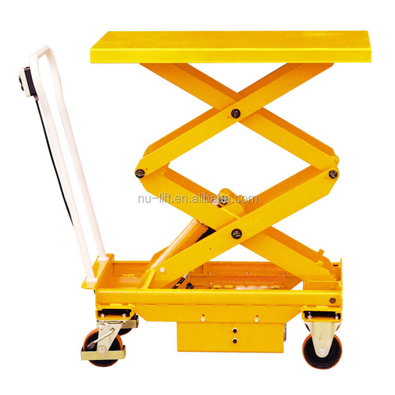 Mobile Electric Hydraulic Elevating Lift Table Cart  Buy