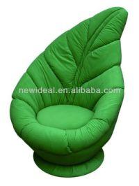 Funny Green Leaf Chair (n071)