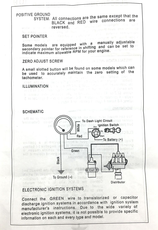 hight resolution of cnspeed 3 75 universal electronic 80mm blue led tachometer rpm gauge 0 8000 rpm