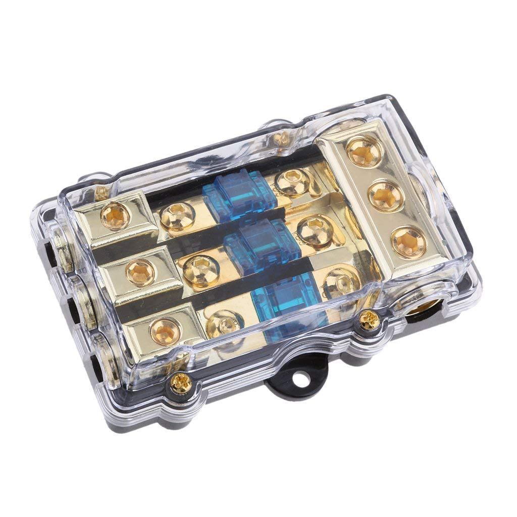 hight resolution of get quotations baoblaze 60a car audio power wire fuse holder car boat marine auto fuse box fuse