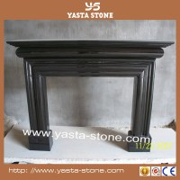 Wholesale Natural Stone Black Fireplace Bottom Plate - Buy ...